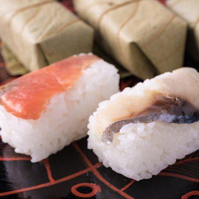 柿の葉寿司7個セット(鮭鯖コンビ)